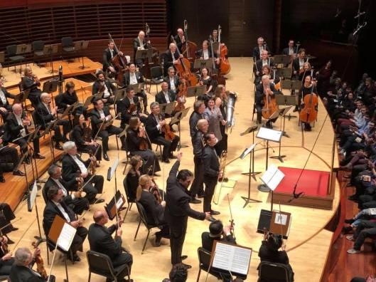 Cristan Macelaru & Philadelphia Orchestra with composer Jennifer Higdon