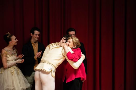 PABallet founder Barbara Weisberger & soloist James Ihde